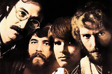 Creedence Clearwater Revival Classic Rock Star Band Poster 24x36