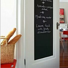 Chalkboard Wall Sticker Blackboard Craft Decal Removable Vinyl Chalk Board SG