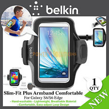 Belkin Slim-Fit Plus Armband Comfortable Light Weight for Galaxy S7 S6 S6 edge
