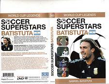 World Cup Legends-Soccer Superstars-Gabriel Omar Batistuta-Soccer Star-DVD