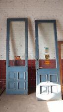 Antique Commercial Doors, Blue