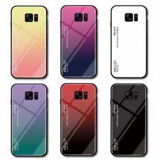 Gradiente de teléfono caso para iPhone XS Max XR Samsung S8 X LG Huawei Motorola Nokia