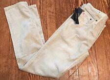 Men's Polo Ralph Lauren Varick Slim Straight Corduroy Pants 32 X 34 Stone Grey
