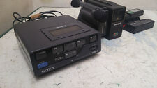 Sony EV-P10U Video 8 Player + SONY CCD-M8E HandyCam VIDEO  VINTAGE RARE