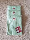 DICKIES WOMEN'S V NECK SCRUB TOPS LOT OF 3 SIZE SMALL PASTEL GREEN NWT