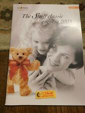 Rare The STEIFF CLASSIC Catalog 2005 Teddy Bears Wild Studio Animals Limited ed