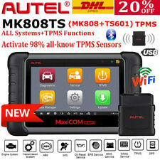 Autel MK808TS Maxicom TPMS Program OBD2 Diagnostic Scanner Code Reader IMMO KEY