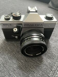 PRAKTICA MTL5   Pentacon Auto 1,8/50mm Multi Coating volle Funktion + Case