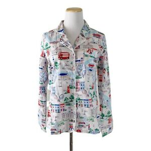 NWT Cath Kidston pajama Top Size Small women's England Button Front US Seller