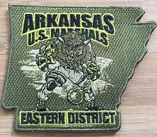 US Marshals Service - ED of Arkansas SecondGEN OD/N - Genuine *Kokopelli Patch*