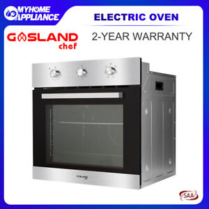 GASLAND chef 60cm Fan Forced Electric Built-in Wall Oven with 10amp Plug 70L