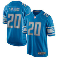 New 2020 NFL Nike Detroit Lions Barry Sanders Game Retired Player Edition Jersey
