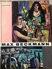 Max Beckmann by Lothar-Gunther Buchheim/ 1st Ed/ 1959/ German