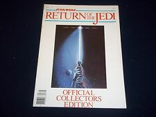 1983 STAR WARS RETURN OF THE JEDI OFFICIAL COLLECTORS EDITION LUCAS FILM - M 889