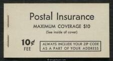 Postal Insurance, Qi1 complete booklet, mint, Vf