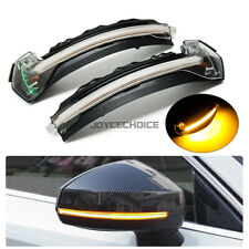 For Audi A3 S3 8V RS3 2013-19 LED Dynamic Turn Signal Light Side Mirror Blinker
