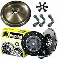 FLYWHEEL AND NEW LUK CLUTCH KIT FOR AUDI 2,E2,2 SALOON 2.0 TFSI