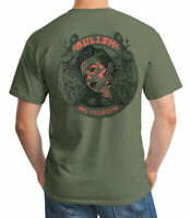 Sullen Men's In Bloom Short Sleeve T Shirt Military Green Clothing Apparel tatto