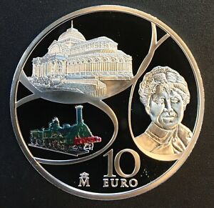 Spain - Silver 10 Euro Coin - 'Iron and Crystal Age' - 2017 - Proof