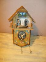 Rare Antique Toggili Cuckoo Clock Restoration / Parts