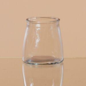Clear Glass Studio Jar Votive Candle Holder #79247 (NWT)