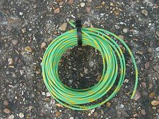 CABLE  7/0.25MM TINNED COPPER GREEN /YELLOW PVC 10mts
