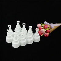 12pcs/set wedding cake bottle Bubbles Wedding Table Decoration Party Favour Tx