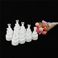 12pcs/set wedding cake bottle Bubbles Wedding Table Decoration Party Favour  I