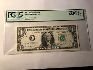 1963B $1 ONE DOLLAR .PCGS 68