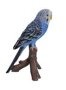 Vivid Arts Blue Budgie Home or Garden Decoration (PP-BDG2-F)