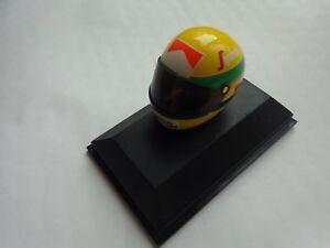 MINICHAMPS 1/8 Clásico Toleman 1984 Ayrton Senna F1 Fórmula 1 Casco