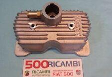 FIAT 500 F/L/R 126 COPERCHIO PUNTERIE VALVOLE MOTORE LOGO ABARTH IN ALLUMINIO