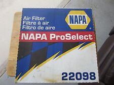 NAPA AIR FILTER 22098 ProSelect  NEW IN ORIGINAL BOX.