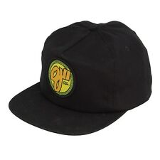 Santa Cruz Oj2 Elites 6 Panel Unstructured Snapback Skateboard Hat Black