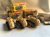 Schuco Piccolo 753 Caterpillar tractor Raupenschlepper Western GERMANY