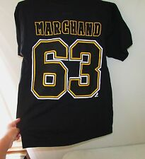 Reebok Boston Bruins #63 Marchand Men's T-Shirt Medium