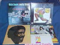Lot of 5 Comedy LP Records Vintage 1960s  70s RICHARD PRYOR, JONATHAN WINTERS...