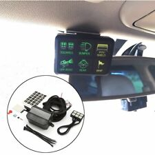 Switch Pro 6-Switch User-Programmable Panel Power System For Jeep Wrangler 12V