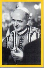 559 Papa Montini - Paolo VI° santino holycard