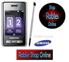 Samsung SGH d980 DUAL SIM (Senza SIM-lock) 5mp Touch mp3 player Bluetooth bene