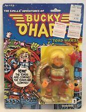 WILLY DU WITT BUCKY O'HARE TOAD WARS ACTION FIGURE 1990 HASBRO