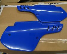 Kawasaki KX500 KX 500 250 125 1988 1989 - 2004 UFO BLUE Side Panels NEW KDX 200