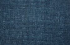 Linen look Upholstery fabric by the yard 54 wide  quality fabric color sapphire