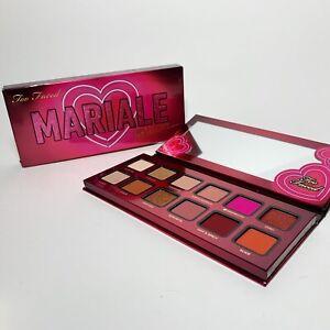 Too Faced Mariale Amor Caliente Eyeshadow Eye Shadow & Cheek Palette Pink NIB