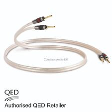 QED Reference XT40 Speaker Cable 2 x 2m Terminated AIRLOC Forte Banana Plugs