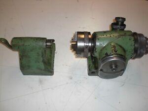 Deckel S1 -- Teilkopf mit 70 mm Spannfutter und Gegenhalter