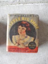 Vintage 1930s Big Little Book - Sybil Jason in Little Big Shot 1149