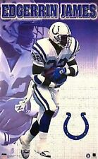 1999 Edgerrin James Indianapolis Colts Original Starline Poster OOP