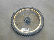suzuki rm125 rm250 front rim wheel tire assembly complete 1986 1985 1987 1988