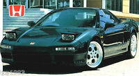Honda NSX Type R SPEC SHEET / Brochure: 1992,1993,1994